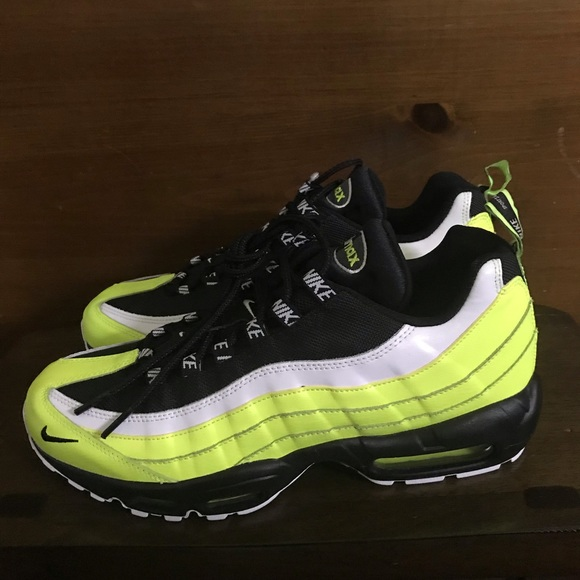 e549ba03 Nike Shoes | Air Max 95 Premium Mens 538416701 Voltblack | Poshmark